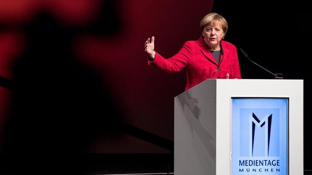 Angela Merkel warns on transpartent algorithms for correct public debate
