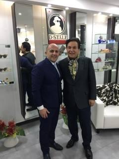 I grandi di Dubai a CASA D-STYLE, il regno dell'occhiale italiano
