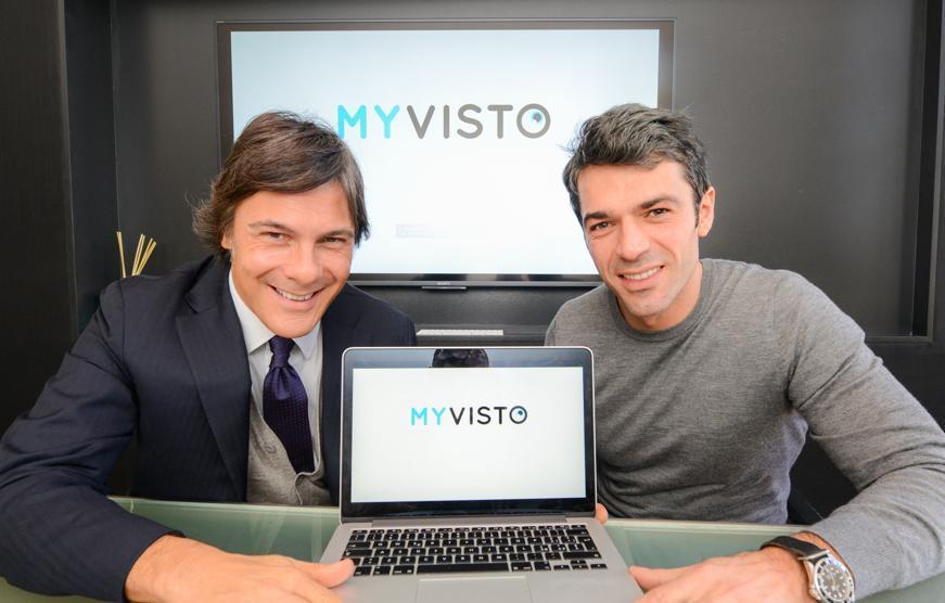Luca Argentero presenta MyVisto, piattaforma web dove si incontrano creativi e brand