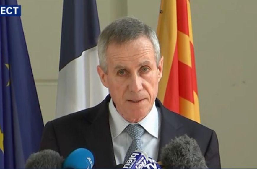 Conferenza stampa del procuratore Molins sulla strage di Nizza