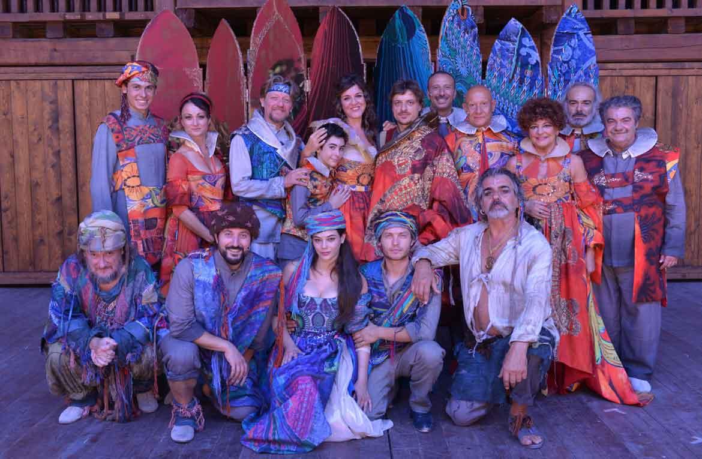 """Dal 26 Agosto all' 11 Settembre in scena il """"Racconto d'Inverno"""" al Globe Theatre"""