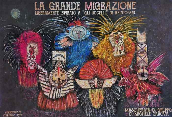 Dal 5 al 28 febbraio l'edizione 2017 del Carnevale di Viareggio