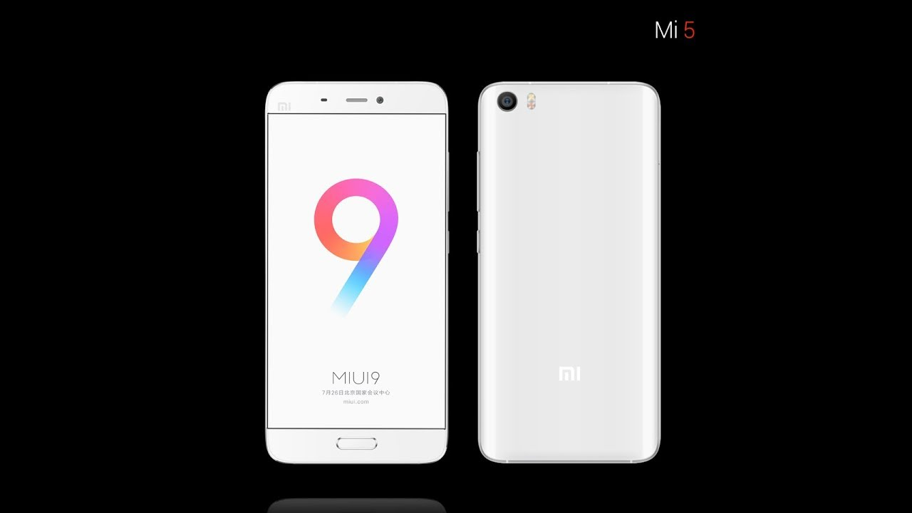 MIUI 9 Global, è disponibile l'aggiornamento per Xiaomi MI5 e MI5s Plus