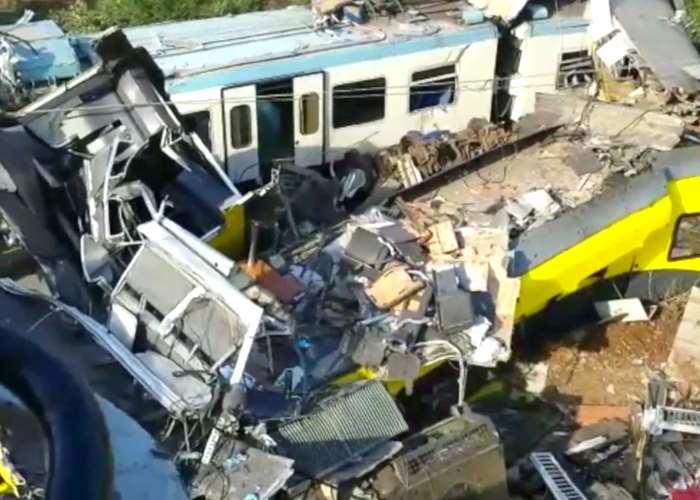 Primi indagati per l'incidente ferroviario tra Andria e Corato