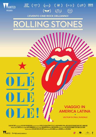 Proeizioni-evento da non perdere: The Rolling Stones Olé Olé Olé