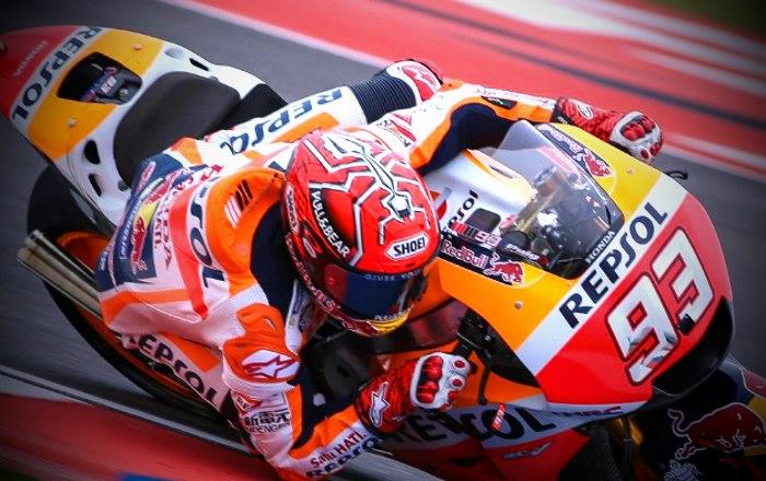 MotoGP 2017, sarà Marquez a partire davanti nel Gran Premio di Argentina. Rosso solo settimo. Male le Ducati