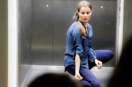 Danzare in ascensore al Museo