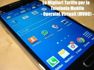 Tutti i piani tariffari per cellulari e smartphone dagli Operatori Virtuali