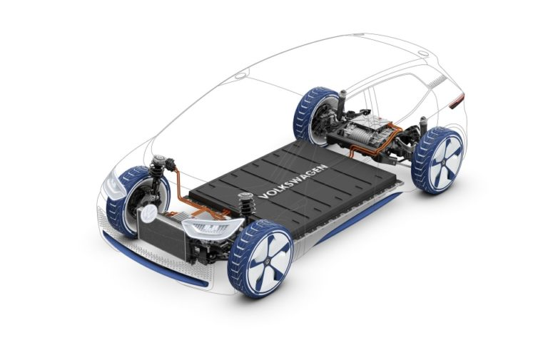 Il pianale modulare di Volkswagen per le prossime auto elettriche