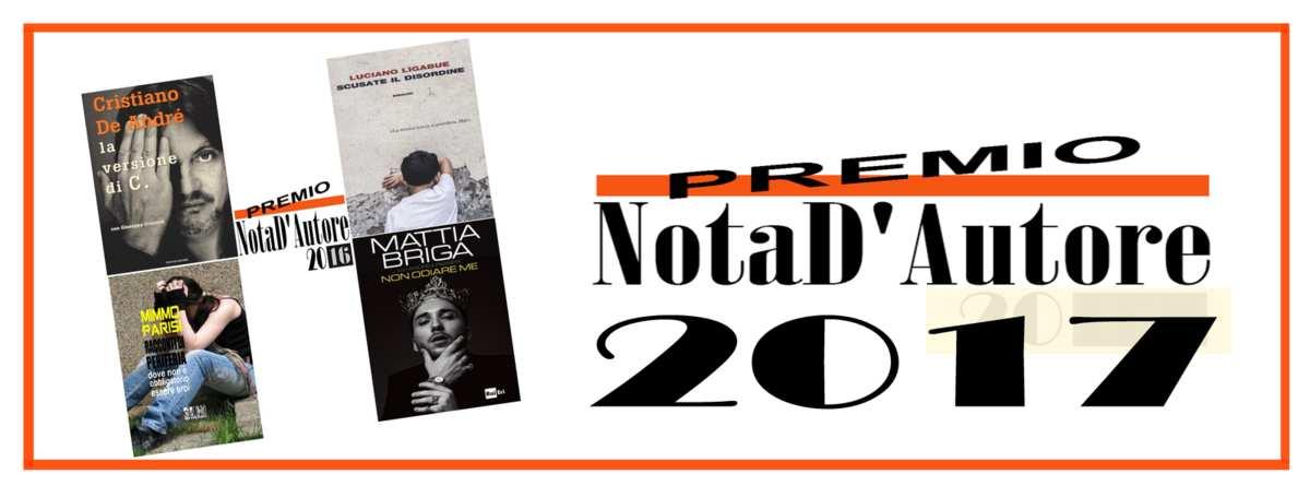 Premio Letterario 'NotaD'Autore2017'