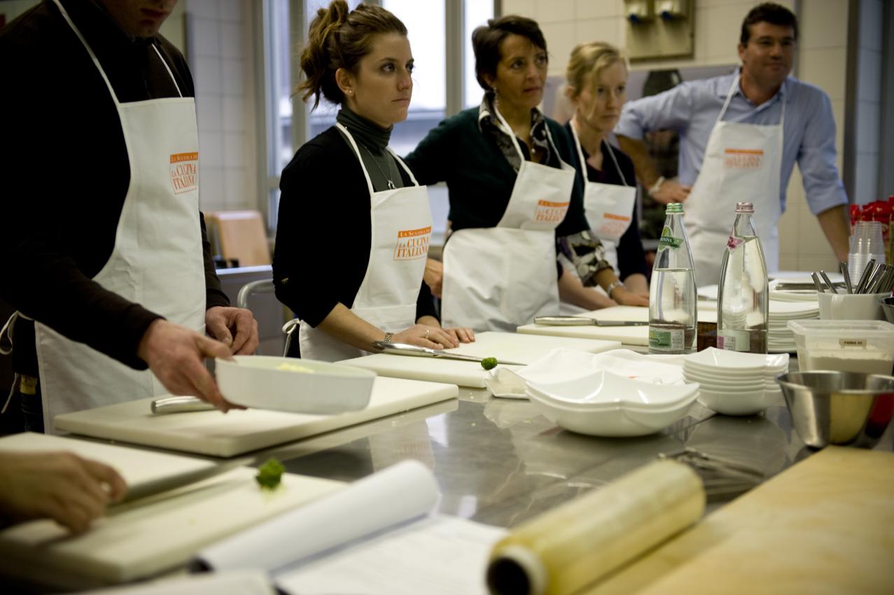 A natale con la scuola de la cucina italiana